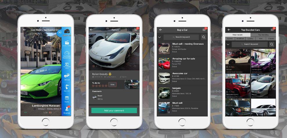 MENA car enthusiasts get their dream mobile App