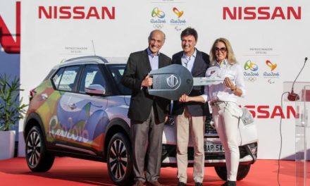 Rio 2016 Organizing Committee receives from Nissan the official vehicle fleet for the Rio 2016 Olympic and Paralympic Games