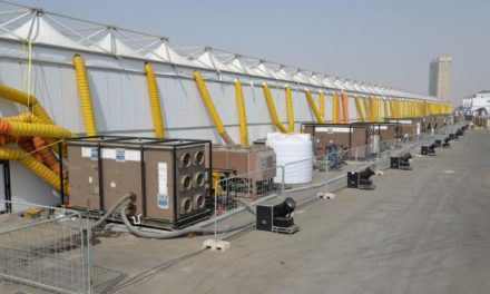 YORK is Jeddah International Book Fair's Cooling and Power Provider