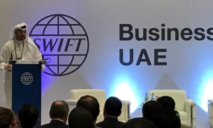 Delegates discuss the future of banking at the first SWIFT Business Forum UAE in Abu Dhabi