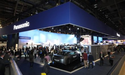 Panasonic's latest exhibits this year at the Consumer Electronics Show in Vegas