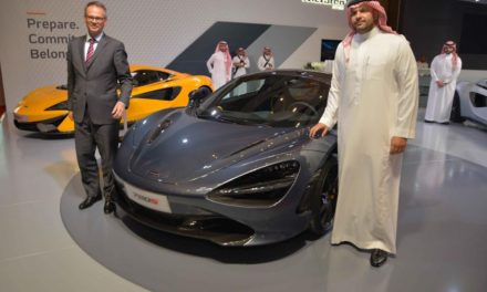 McLaren introduces the new 720S at EXCS Motorshow in Riyadh