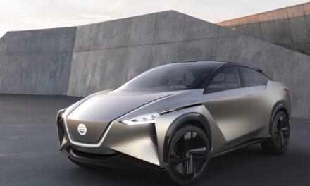 Nissan IMx KURO concept vehicle debuts at Geneva Motor Show