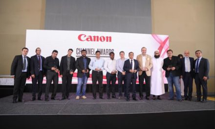 Canon Middle East Celebrates Channel Partners' Business Performance