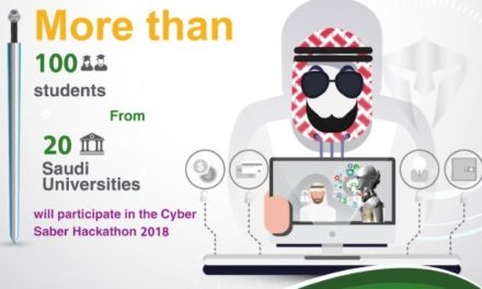 More than 100 students from 20 Saudi Universities will participate in the Cyber Saber Hackathon 2018