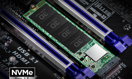 Transcend Recommends Gamers Its MTE110S PCIe NVMe M.2 SSD for Faster Game Load Time with AAA Title Games