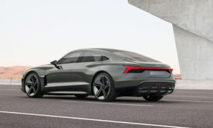 New star in the movie capital – the Audi e-tron GT concept