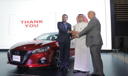 All-New Nissan Altima Wins 'Best Mid-Sized Sedan' During the Saudi International Motor Show