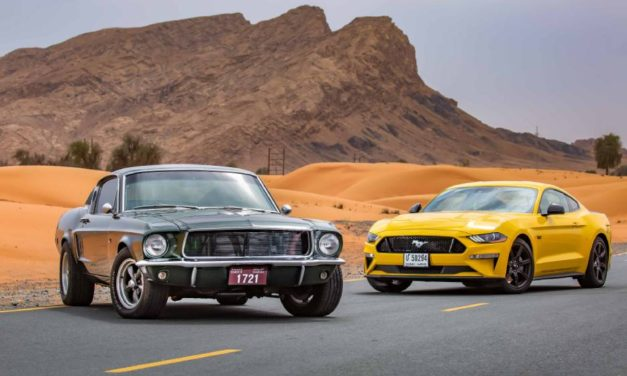 Mustang World's Best-selling Sports Coupe for 4th Straight Year; Ford Dials-Up Celebrations For Pony Car's 55th Birthday