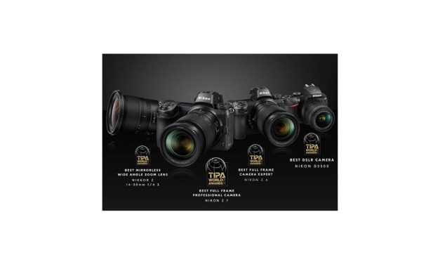 Nikon Products, Including the Latest Z Series Mirrorless Cameras, Receive the TIPA WORLD AWARDS 2019