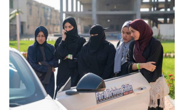 Learning Together: Both Men and Women at King Abdullah University of Science and Technology Benefit from First Ever Co-Ed Driving Skills for Life in Saudi Arabia