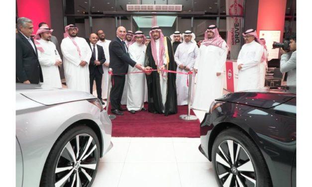 Petromin inaugurates first Nissan Showroom in Makkah