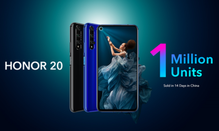 HONOR kicks off HONOR 20 Global Availability, Continues Record-breaking Sales Performance in China HONOR 20 sales in China surpass one million units in a mere 14 days