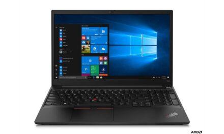 Lenovo's ThinkPad Laptops Powered by AMD Ryzen™ 4000 Series Available Soon
