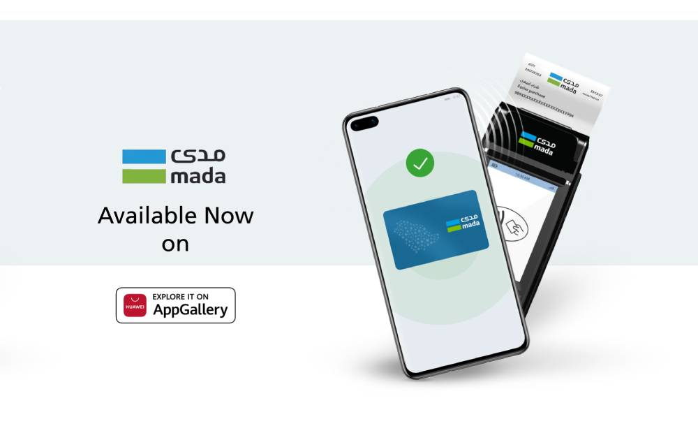 mada Pay App makes debut on HUAWEI AppGallery to bring flexibility of contactless payments