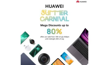 """Enjoy the First Ever Huawei's Mega Discounts up-to 80% during  """"HUAWEI_Summer_Carnival"""" Starting this coming Sunday July 19"""