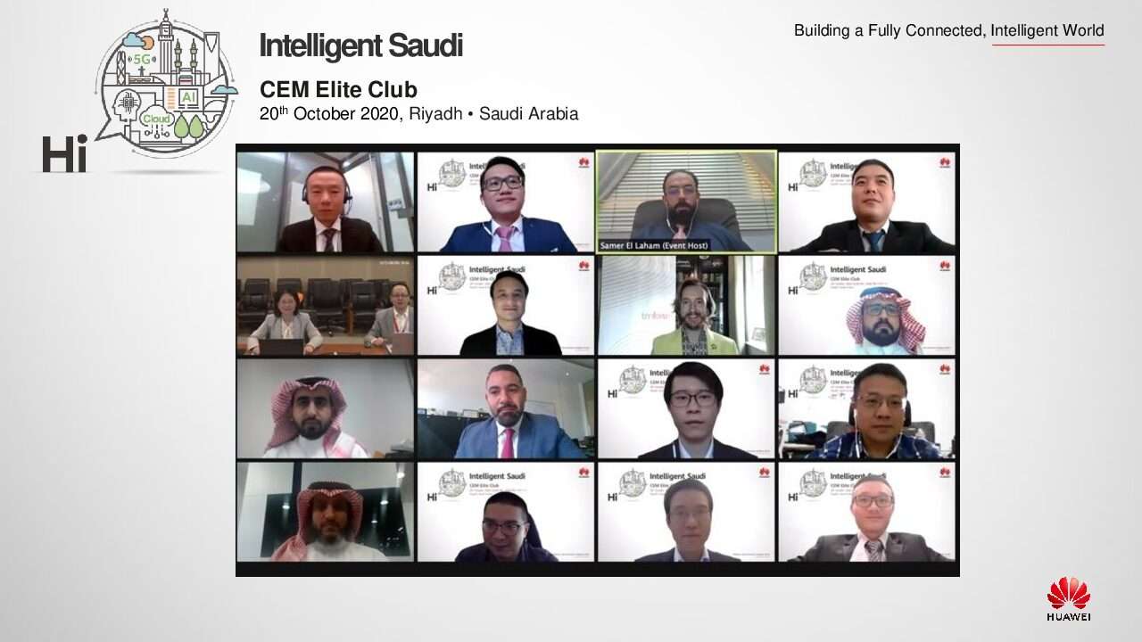 Huawei Launch 'CEM Elite Club' in Saudi Arabia