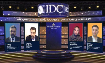 Saudi Arabia's Most Influential ICT Leaders Gather Online for Virtual IDC CIO Summit