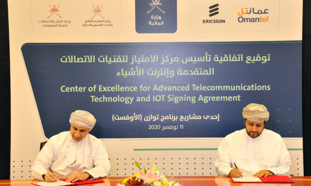 Oman's Ministry of Finance signs agreement to establish a Center of Excellence for Advanced Telecommunications technology and IOT with Ericsson