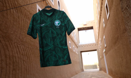 NIKE AND THE SAUDI NATIONAL TEAM UNVEIL THE NEW HOME AND AWAY KITS