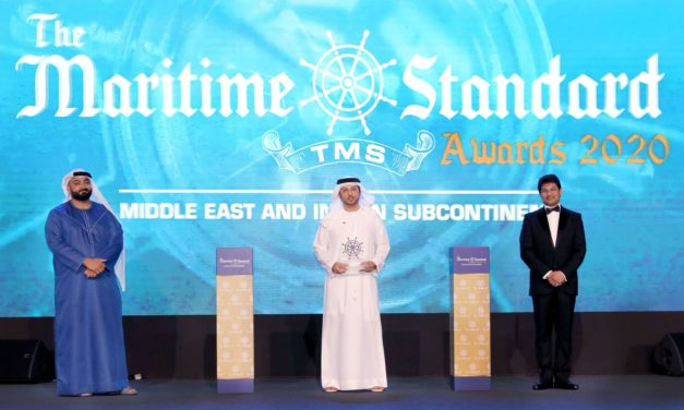 DP WORLD, UAE REGION GAINS RECOGNITION FOR ITS REMARKABLE CONTRIBUTION TO THE MARITIME INDUSTRY IN THE MIDDLE EAST