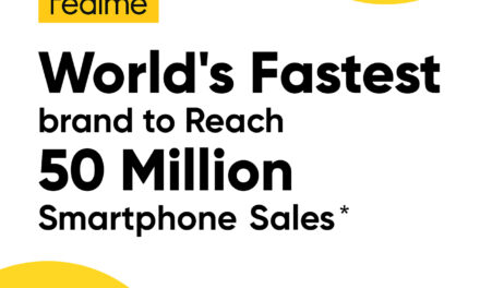 realme exceeds the barrier of 50 million users, to be ranked seventh in the world