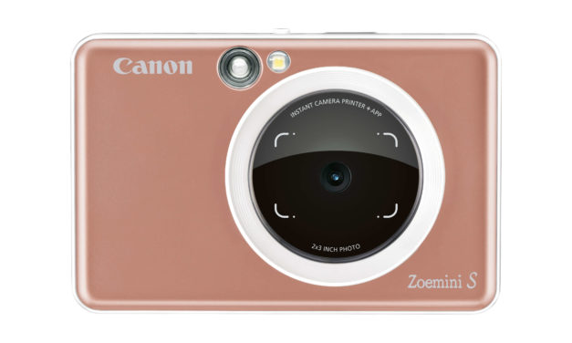 Canon's top gift picks for the holidays – including every fashionista's dream camera: the super trendy 2 in 1 'Zoemini S' instant camera and printer