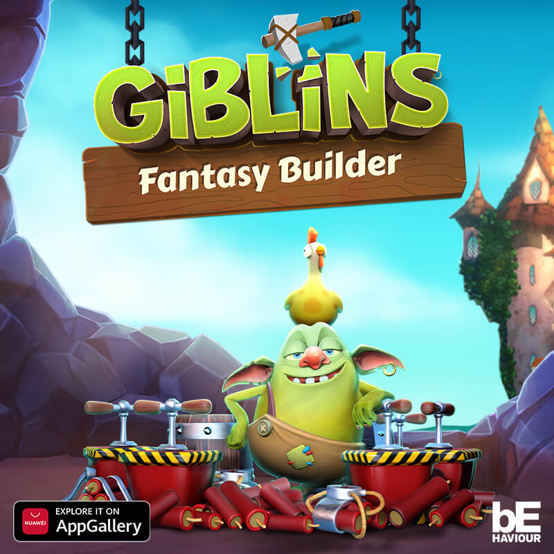 Giblins Fantasy Builder Availabl Now on HUAWEI AppGallery