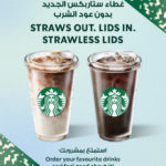 Starbucks marks a milestone as it launches its first-ever straw-less lid across stores in MENA