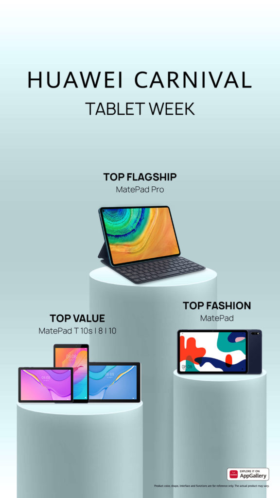 There's a tablet for everyone from Huawei