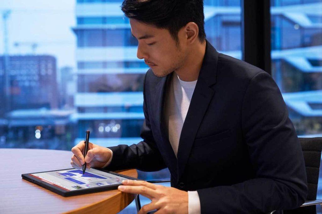 ThinkPad X1 Fold with Active Pen