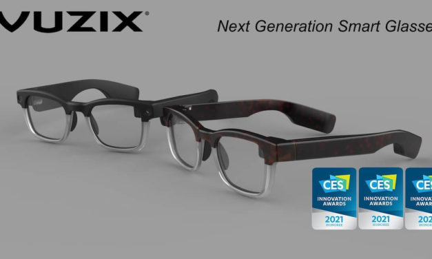 Vuzix Next Generation Smart Glasses Captures 3 CES 2021 Innovation Awards for Outstanding Design and Engineering #CES2021