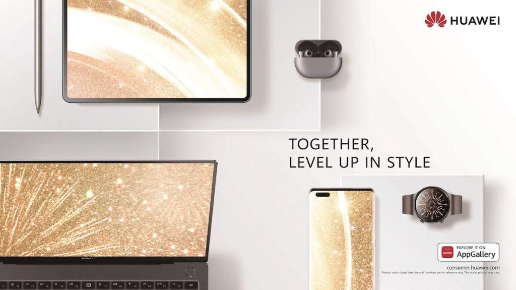 Huawei 2021 New Year KV Horizontal White_EN