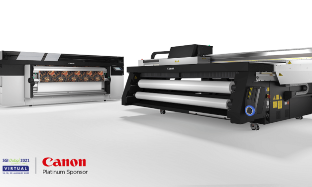 Canon Middle East to encourage graphic arts audiences to explore new print applications at SGI 2021