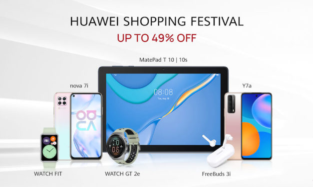 HUAWEI Shopping Festival kicks off with up to 49% off on the latest devices