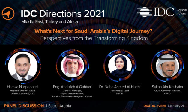 IDC Predicts IT Spending in Buoyant Saudi Market to Top $11 Billion in 2021