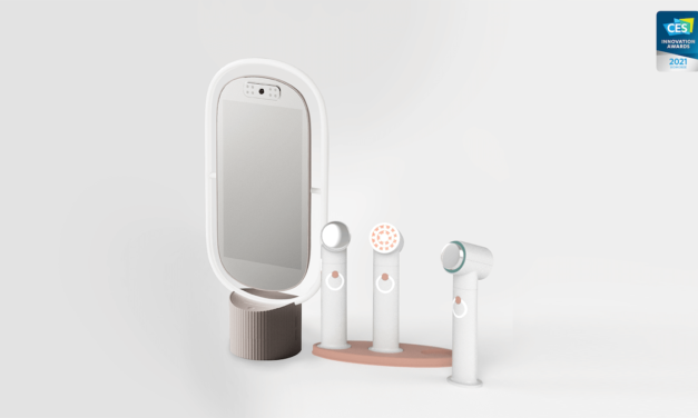 Innovative Artificial Intelligence in the beauty industry. AI K-beauty device by lululab #CES2021
