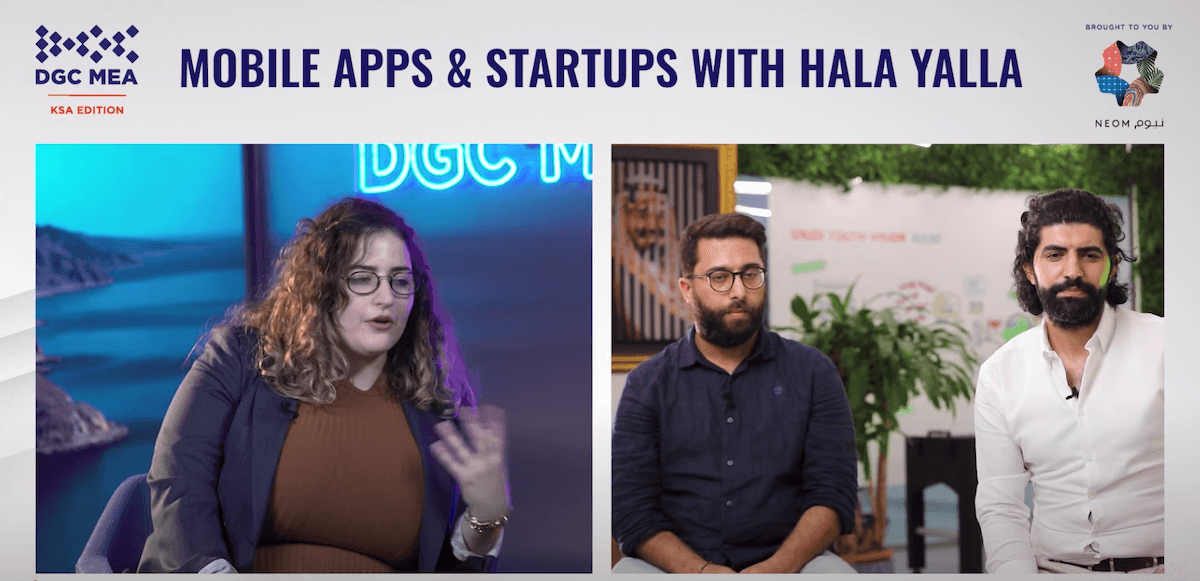 Hala Yalla executives share their experience of building a popular Kafu Games platform during the DGC games industry conference