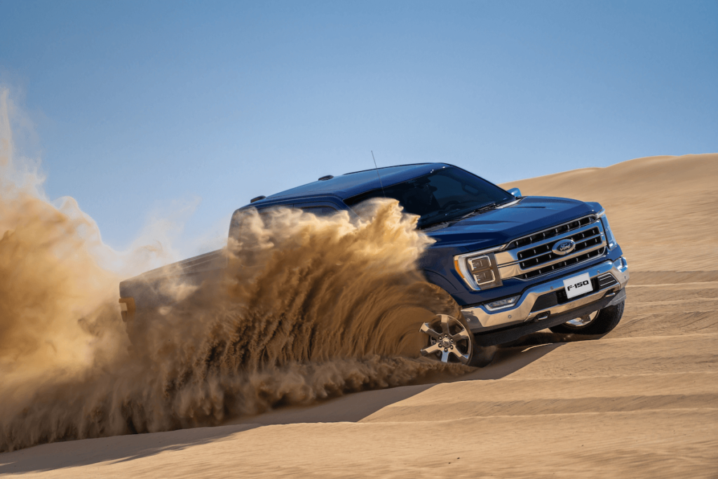 All-new 2021 F-150 2