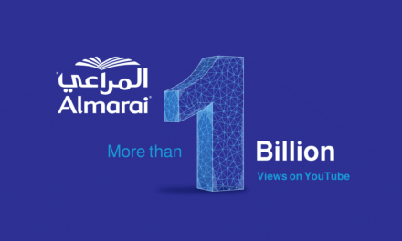 Almarai, 1st brand to break 1 billion views on YouTube