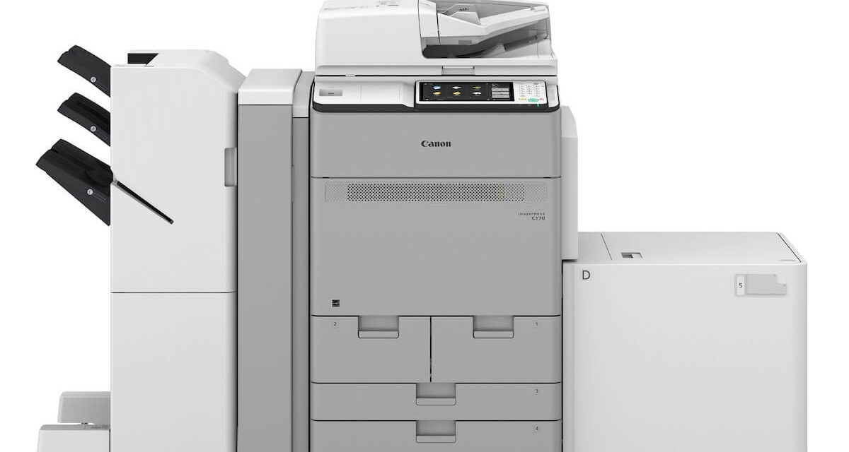 Canon launches imagePRESS C170 series; push creative limits and produce high-quality assets in-house