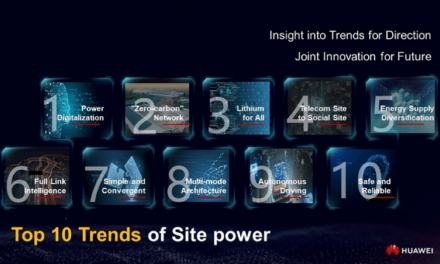 Technology and Industry Trend: Huawei Launch Top Ten Trends of Site Power