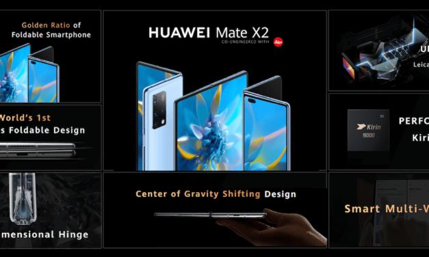 Imagine What Unfolds: Huawei announces HUAWEI Mate X2