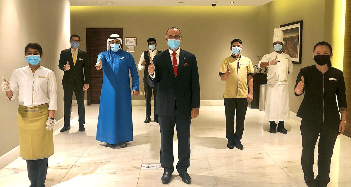 Millennium Plaza Hotel Dubai Staff Vaccinated Against Covid-19