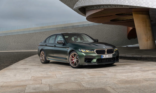 The new BMW M5 CS.