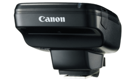 Canon updates its popular Speedlite Transmitter, with the new ST-E3-RT(Ver.2)