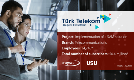 Türk Telekom implements Raynet and USU technology for successful Software Asset Management