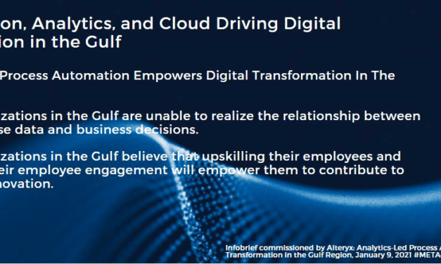 Process Automation and Skill Enablement Vital for Business Resilience in the Gulf