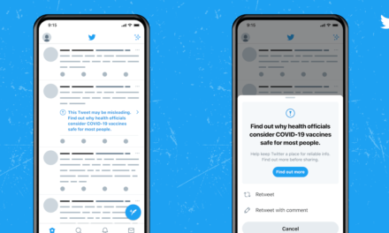 TWITTER INTRODUCES LABELS FOR THE COVID-19 VACCINE AS IT CONTINUES ITS FIGHT AGAINST MISINFORMATION