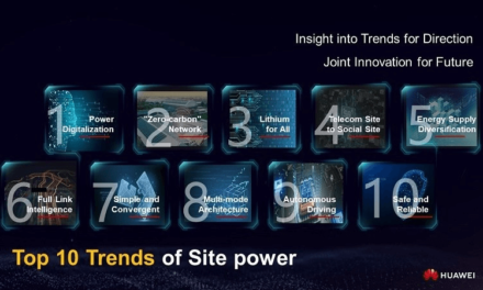Huawei Launches Top Ten Trends of Site Power